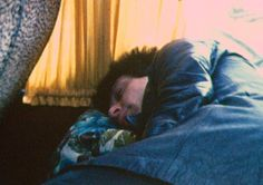 Johnny sleeping on the Heartbreakers tour bus, Johnny Thunders, Art Pieces, Tours, Fictional Characters, Artworks, Art Work, Fantasy Characters