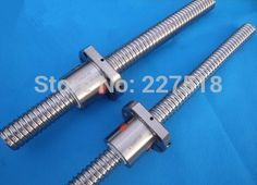 23.00$  Watch now - 1pc SFU1605 Ball Screw 600mm with 1pc single Ball nut without end machining  #buyonlinewebsite