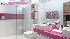 Resultado de imagem para banheiros para meninas
