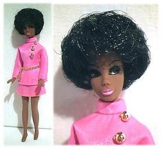 pink and gold good - Vintage Dawn Doll