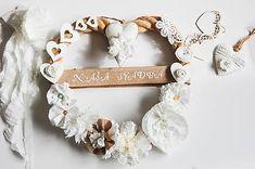 MonRoy / Svadobný veniec Napkin Rings, Frame, Wedding, Decor, Picture Frame, Valentines Day Weddings, Decoration, Weddings, Decorating