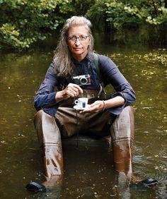 Annie Leibovitz & Fuji X100.