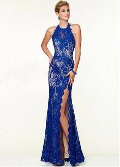 Sexy Halter Top Prom Dresses