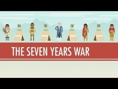 wk 24 The Seven Years War: Crash Course World History Timeline Card Week 15 Modern World History, World History Lessons, Us History, History Education, Seven Years' War, The Seven, Scientific Revolution And Enlightenment, Crash Course World History, Canadian History