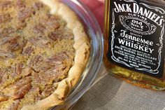 Jack Daniel's Pie Preheat your oven to 375 degrees F. vanilla Stir in: . cup chocolate chips (Pour into an unbaked pie crust and bake for 40 minutes. Jack Daniels Chocolate, Whiskey Chocolate, Chocolate Chips, Great Recipes, Favorite Recipes, Kinds Of Pie, Pecan Recipes, Food Cravings, Food Items