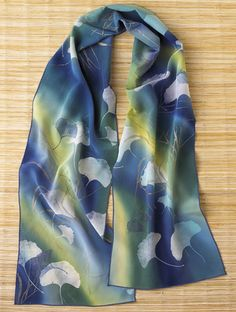 Ginkgo Leaves Scarf | From the Museum Shop of The Art Institute of Chicago