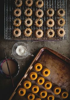 Buttermilk-Glazed Kabocha Doughnuts with Candied Thyme | Flickr - Photo Sharing!