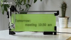iBoardbot internet üzerinden kullanabileceğiniz, beyaz tahta üzerine yazı yazabilen robotik bir kol by Kickstarter  #robotikkol #robot #yazi #beyaztahta #teknoloji #kickstarter