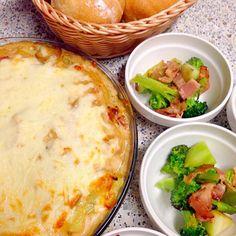 夕飯にポテトグラタン‼︎ - 17件のもぐもぐ - ポテトグラタン by bicke34