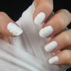 Mummy Nails | 25 Clever Nail Ideas For Halloween