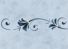 $13.50 Use our Floral Breeze Stencil to quickly and easily create an elegant design on walls anywhere in your home!