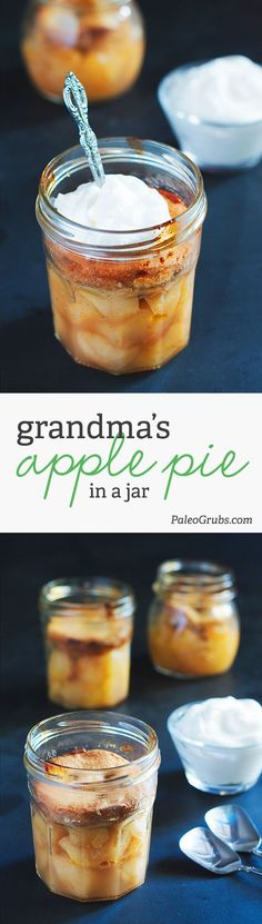 Our apple pie in a jar is all kinds of yum, and the best part is it goes where you go! My kids are obsessed with it and my friends request it every time they come over.