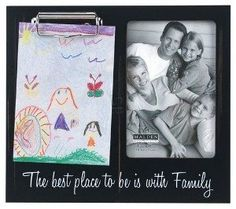 Family 4x6 Clip Stick Black Picture Frame Picture Frame - 11 Main