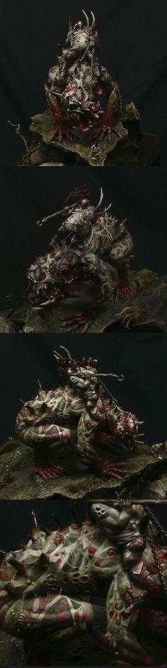 ITALY 2011 Modena - Warhammer Monster  #warhammer #fantasy #nurgle