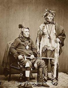 Native American Pottawatomie Men Circa 1860 Historic Photo Print | eBay