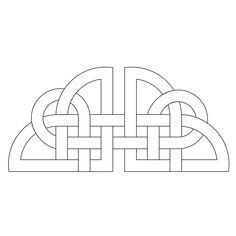 Celtic, curves, straight lines, Celtic knot Celtic Patterns, Celtic Designs, Celtic Symbols, Celtic Art, Celtic Knot Tattoo, Celtic Knots, Celtic Circle, Wood Carving Patterns, Book Of Kells