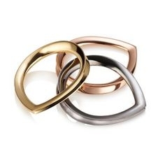 #HML28daysoflove For the love of... stacking rings Delirium Arc Stacking Ring http://www.hannahmartinlondon.com/products/Delirium-Arc-Stack-Ring-Yellow/442