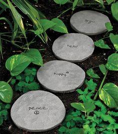 Stepping stones para tu jardín