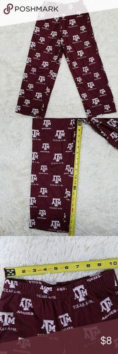 HOST PICK! Kids Texas A&M pajama pants 8 Flame retardant, 2 pockets at side seams. Bundle to save on shipping! Pajamas Pajama Bottoms