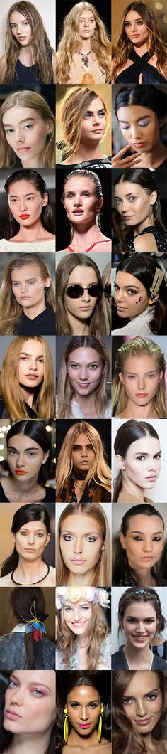 Your ultimate guide to 2015's BIG beauty trends | http://www.cosmopolitan.co.uk/beauty-hair/beauty-trends/advice/g3913/2015-beauty-trends-hair-makeup/