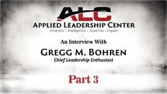 ALC Interview - Gregg Bohren (Part 3)