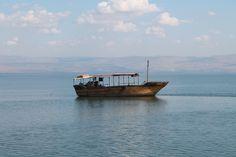 Rejs łodzią po Jeziorze Galilejskim