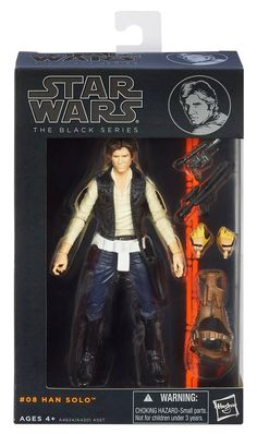 Star Wars Black Series 6-inch Han Solo - The Movie Store