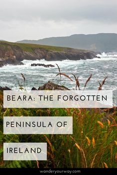 The Ring of Kerry and the Dingle Peninsula get all the press. But the Beara Peninsula is incredibly beautiful — along the coast and in the interior. And it sees less folks and NO motor coaches Click through to find out more. #ireland