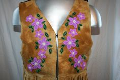 Native American Beadwork, Native Indian, Vests, Moose, Beading, Mexico, Patterns, Clothing, Jackets