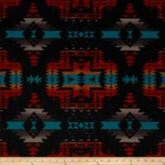 From Windham Fabrics, this double-sided, anti-pill fleece fabric is warm and cozy and has ultra soft hand. It is perfect for throws, blankets, jackets, hats, mittens, scarves, slippers, pillows, vests, pullovers and much more!  Colors include dark red, black, dark turquoise and grey.