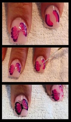 The Butterfly Nails Tutorial