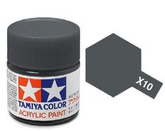 Tamiya Models Mini Acrylic Paint, Gun Metal: Tamiya Acrylic Paint Gun Metal Made from water-soluble acrylic resins and excellent for either brush or spray painting. Acrylic Colors, Paint Colors, Hobbies For Girls, Semi Gloss Paint, Tamiya Models, Color Chrome, Painted Boxes, Acrylic Resin, Paint Cans
