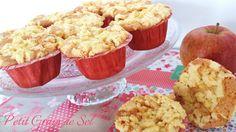 Muffins à la pomme façon crumble Petit Grain de Sel
