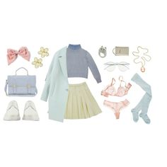 """innocent"" by erika-boo on Polyvore"