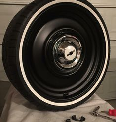 and installed and ready to go on the truck. Chevy S10, C10 Chevy Truck, Classic Chevy Trucks, Chevy Pickups, Gmc Trucks, Cool Trucks, Pickup Trucks, Rims For Cars, Rims And Tires
