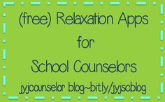 jyjoyner counselor: (free) Relaxation iPad apps