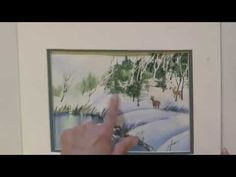 Watercolor for Beginners: Paint Pine Trees with Jan Fabian Wallake - YouTube