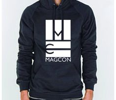 I'm so getting one of these Magcon tour hoodies, if they ever come to GEORGIA!