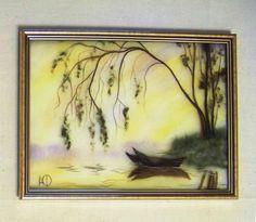 Gallery.ru / Маковое поле - Моя шерстяная акварель - zimushka00