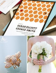 Honey Bee Wedding - such a unique theme!