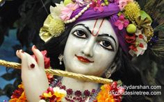 To view Gopinath Close Up Wallpaper of ISKCON Chowpatty in difference sizes visit - http://harekrishnawallpapers.com/sri-gopinath-close-up-wallpaper-072/