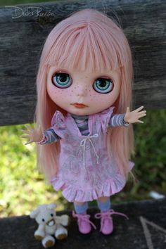 Judith custom Blythe doll by ElDulceRincon on Etsy