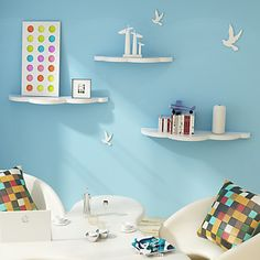 floating clouds shelves