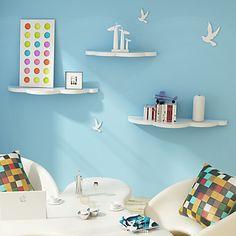 floating clouds shelves