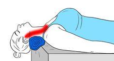 11Estiramientos para aliviar latensión enelcuello ylos hombros Neck And Shoulder Stretches, Neck And Shoulder Pain, Stiff Neck Stretches, Muscle Pain Relief, Neck Pain Relief, Neck Exercises, Stretching Exercises, Trapezius Stretch, Cow Face Pose