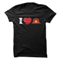 I Love A Firefighter Great T Shirts, Hoodies. Check Price ==► https://www.sunfrog.com/LifeStyle/I-Love-A-Firefighter-Great-Shirt.html?41382