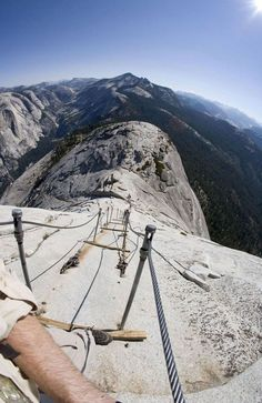 Half Dome Cables, Yosemite National Park