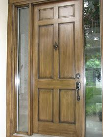 The Magic Brush, Inc.: It's a good time to start fauxing your exterior doors