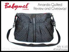 Babymel Amanda Quilted Diaper Bag