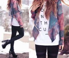 I'm totally obsessed with this jacket. Oh my gosh